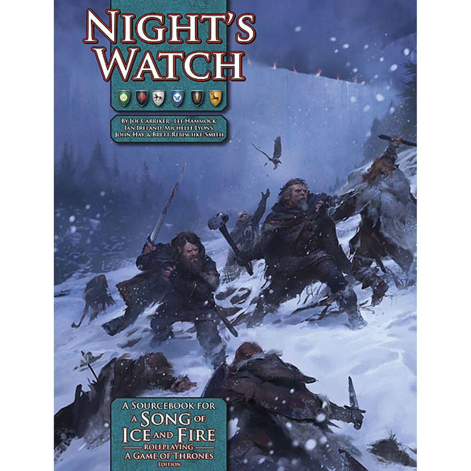 A Song of Ice and Fire Night's Watch Cover Art
