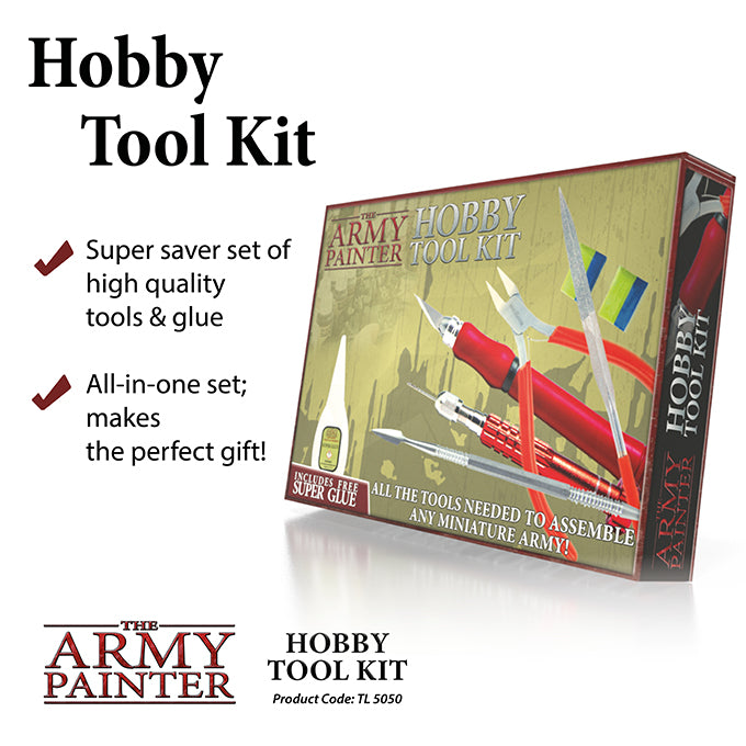Box Packaging for Army painter Hobby tool Kit
