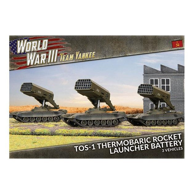 TOS-1 Thermobaric Rocket Launcher Battery