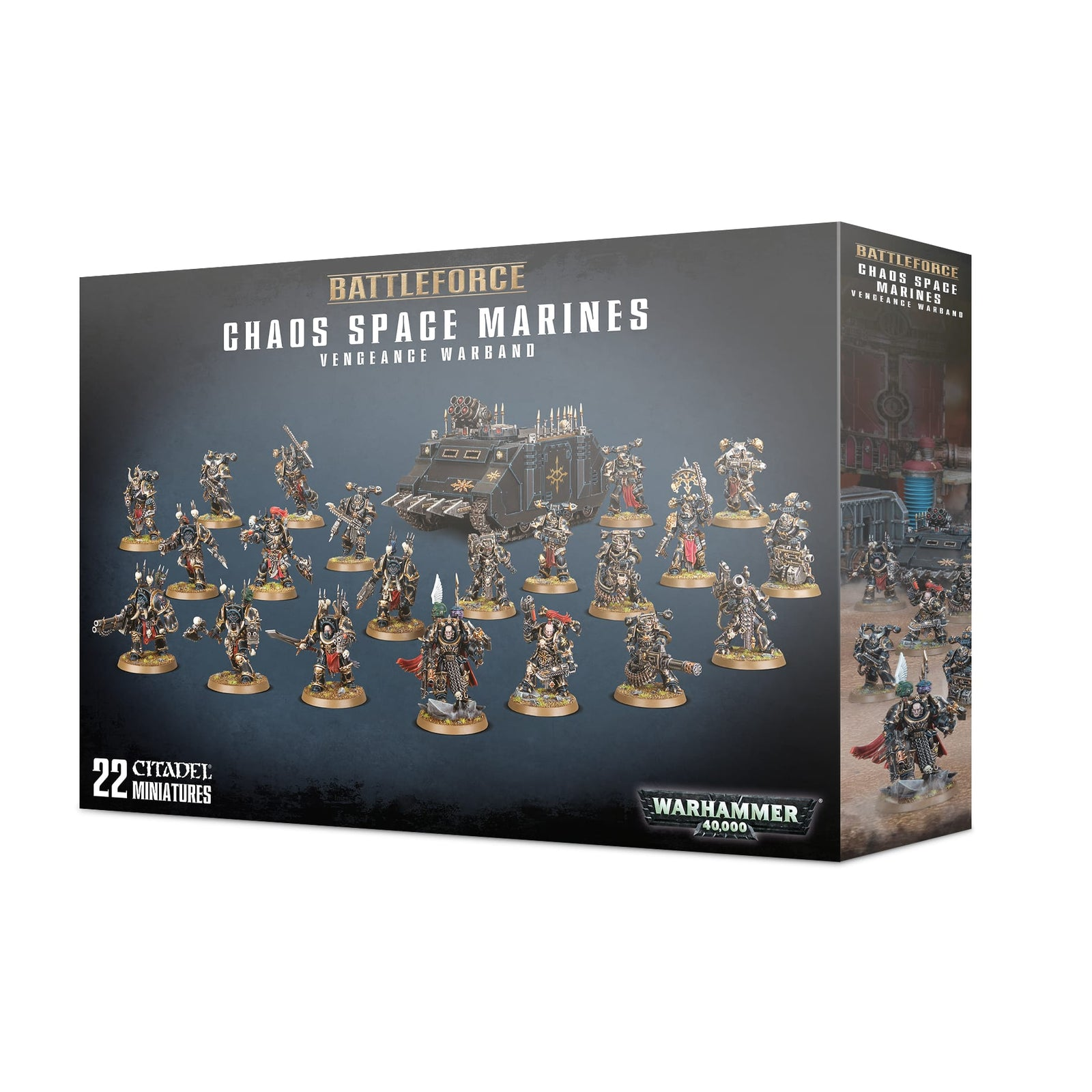 Battleforce: Chaos Space Marines: Vengeance Warband