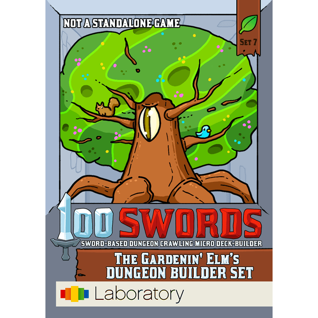 Hundred Swords Dungeon Crawling Micro Deck Builder by Laboratory