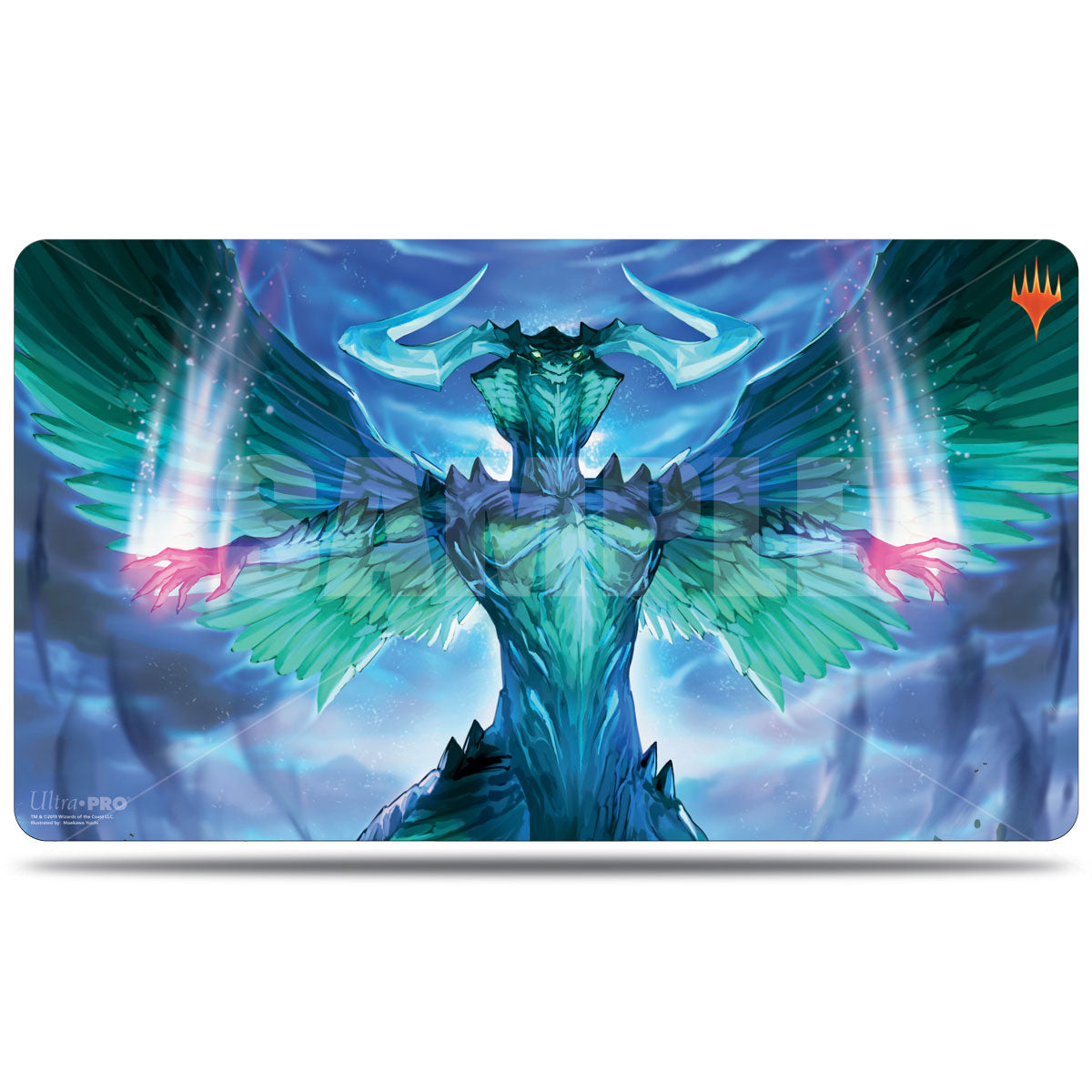 UP Playmat - War of the Spark Alternate Art Ugin