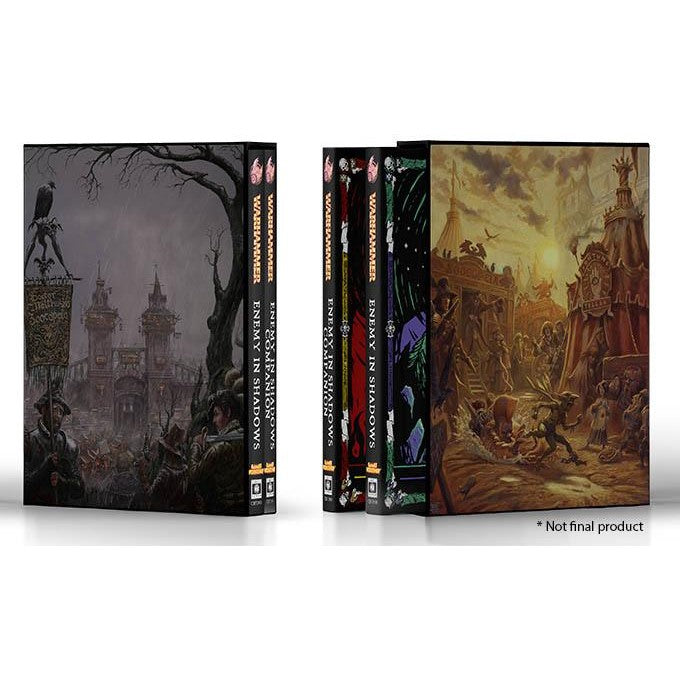 Warhammer Fantasy Roleplay The Enemy Within Collector's Edition
