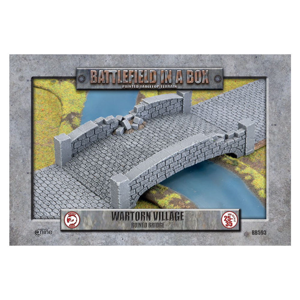 Battlefield in a Box: Wartorn Village Ruined Bridge
