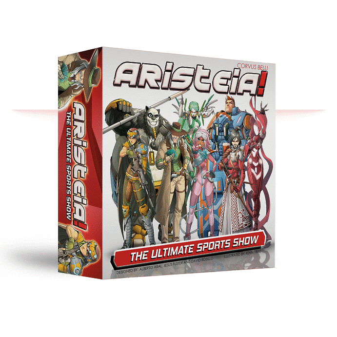 Box packaging for Aristeia