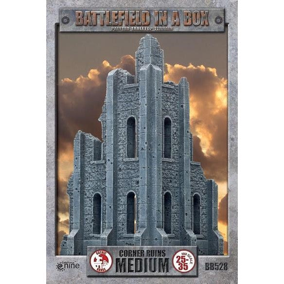 Battlefield in a Box: Gothic Medium Corner Ruins