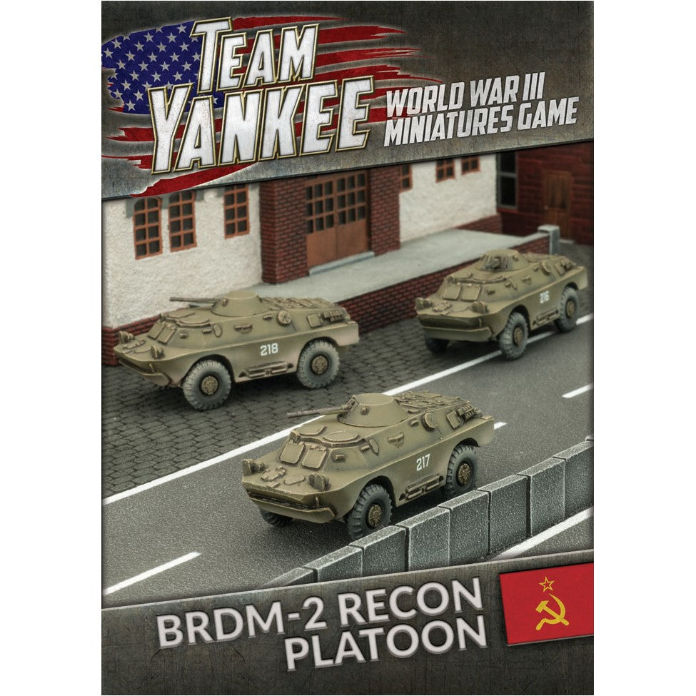 BRDM-2 Recon Platoon - The Sword & Board
