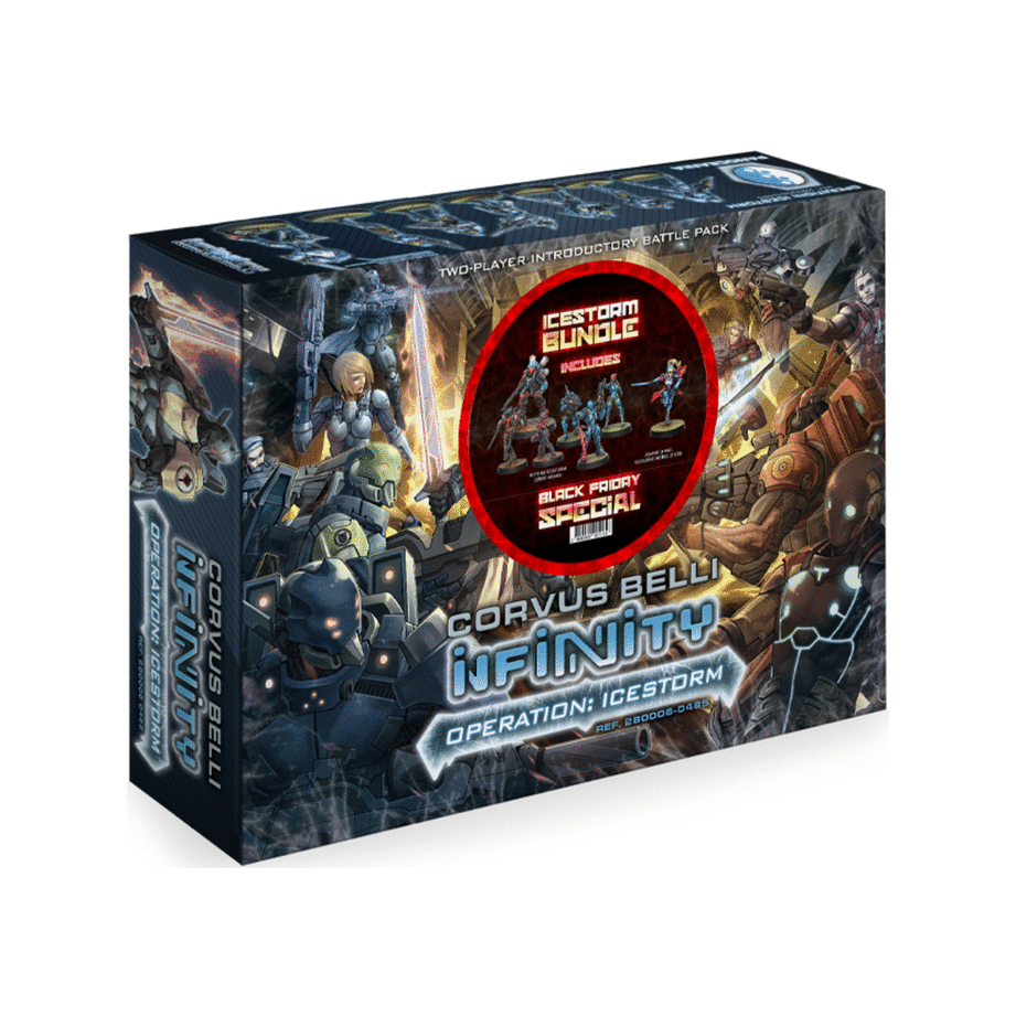 Infinity: Operation Icestorm Black Friday 2019 bundle (operation+beyond+jeanne)