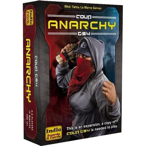 Box Art for Coup Anarchy G54