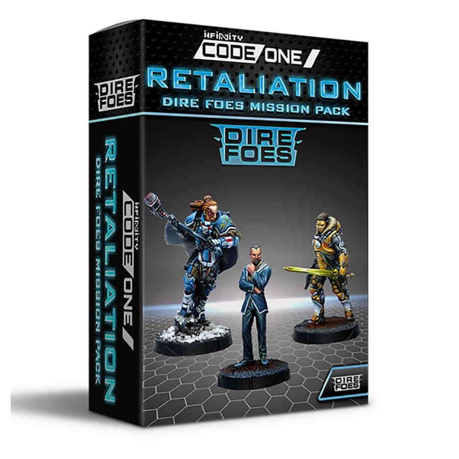 Infinity Code One: Retaliation Mission Pack Alpha - Dire Foes