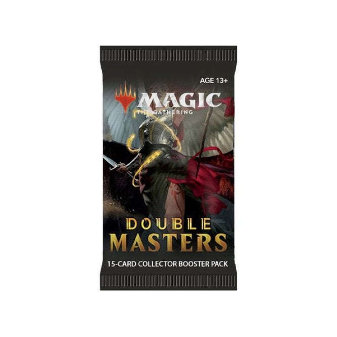Foil wrap Booster packaging for double masters