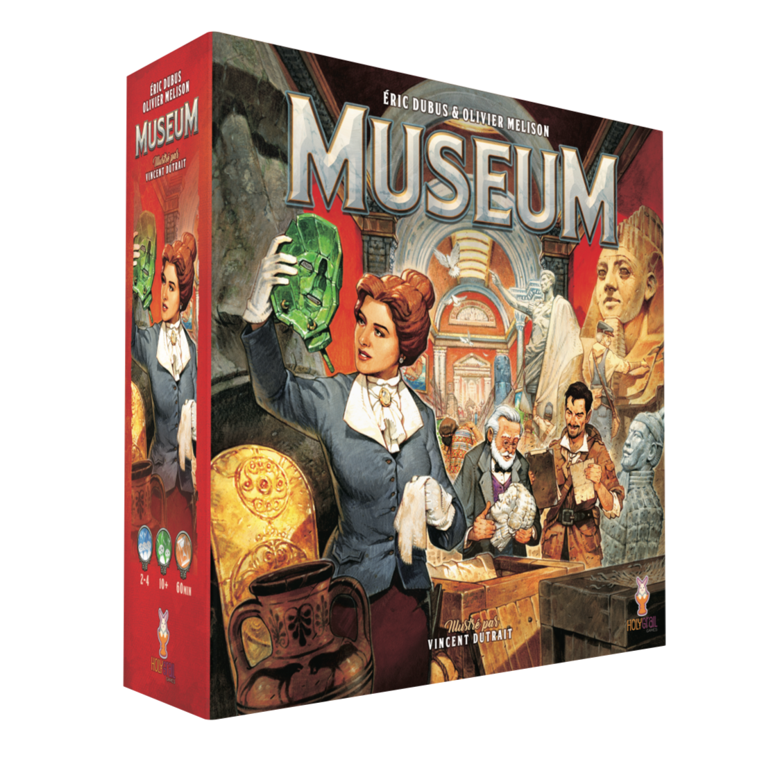 box packaging for Museum