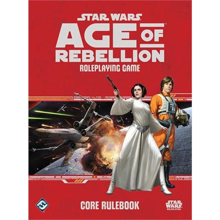 Star Wars - Age Of Rebellion: Core Rulebook