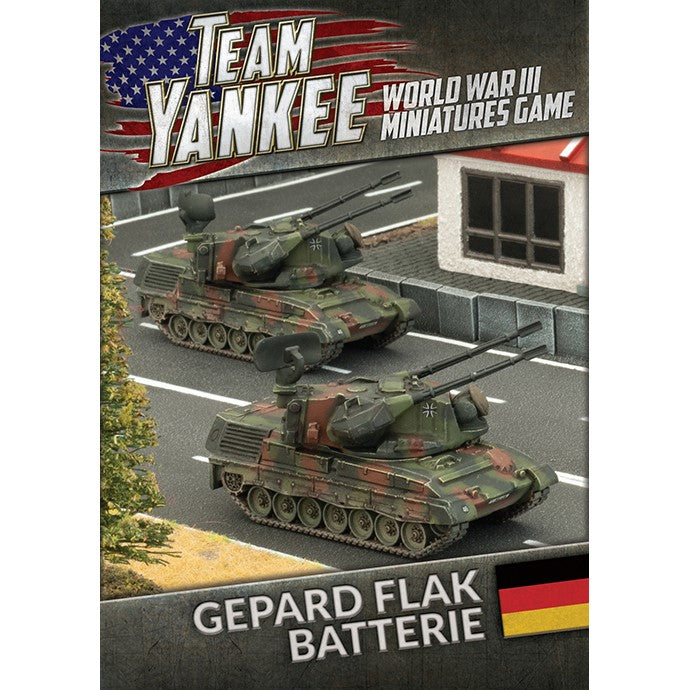 Gepard Flak Batterie - The Sword & Board