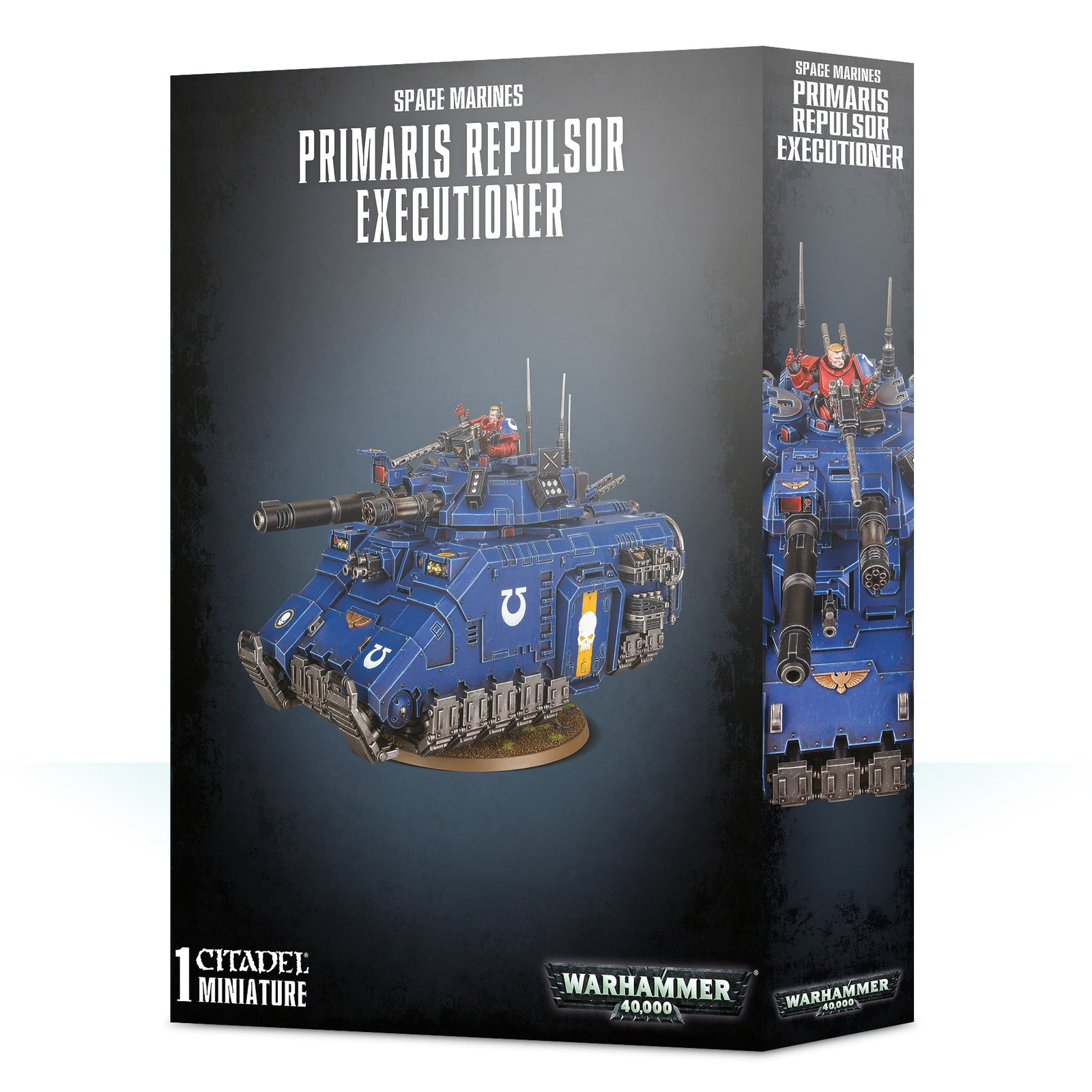 Box packaging for repulsor executioner