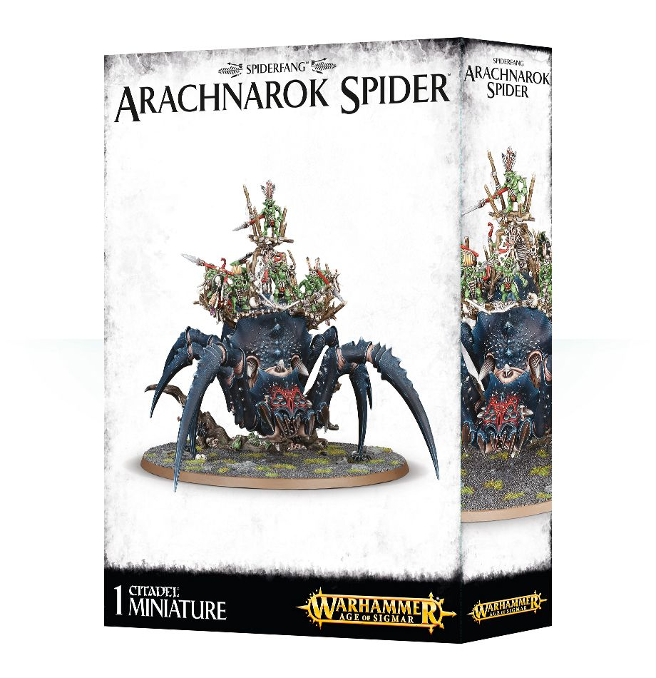 box image for Arachnarok spider