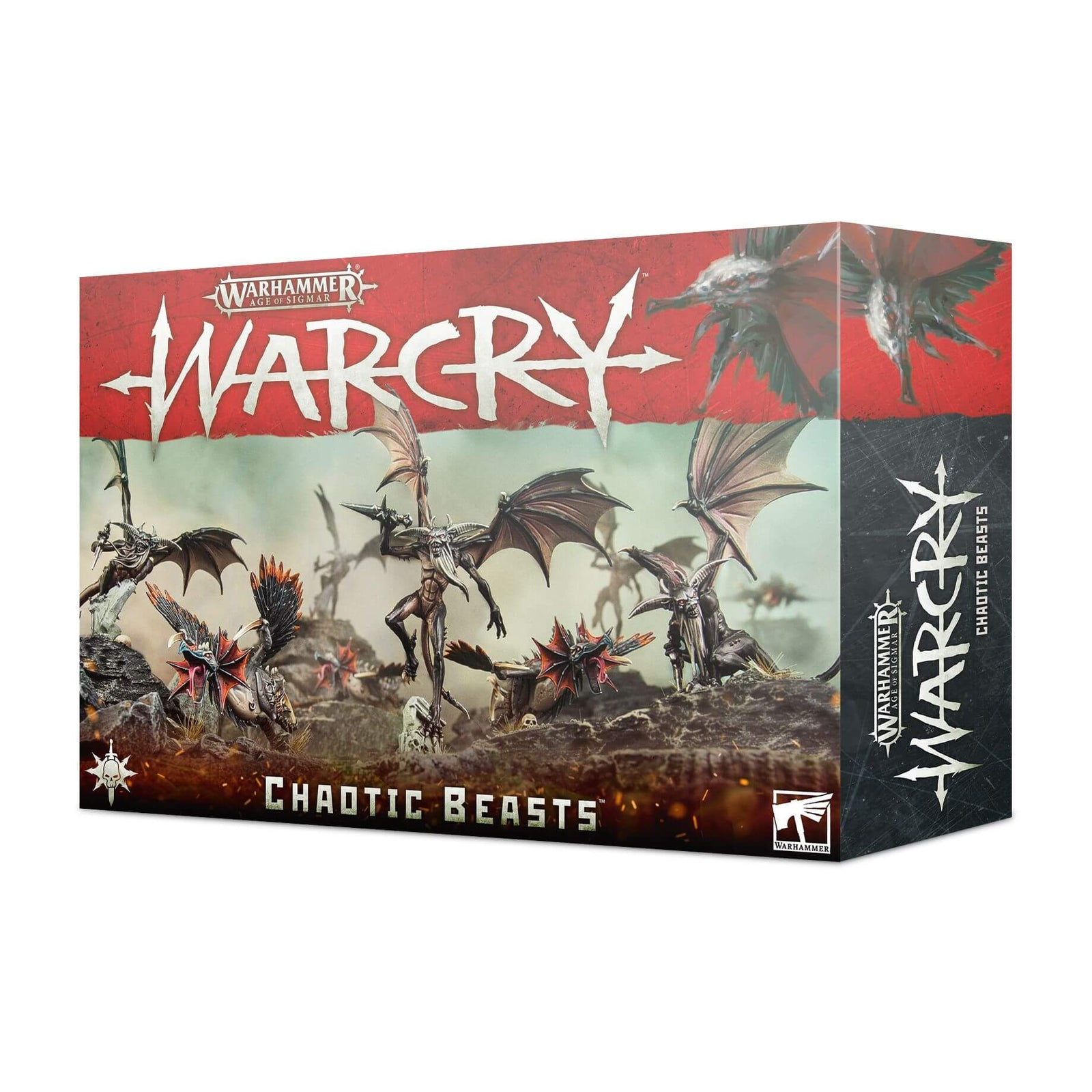 Box Image for Warcry: Chaotic Beasts