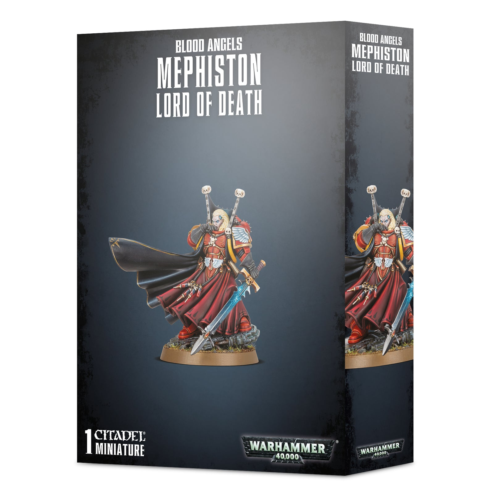 box packaging for Mephiston Lord of Death