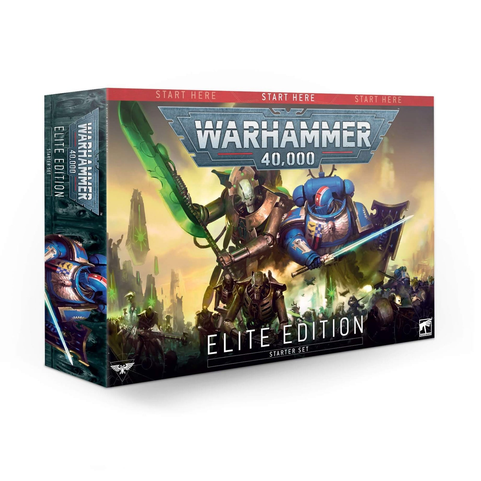 Box Image for Warhammer 40K Elite Edition