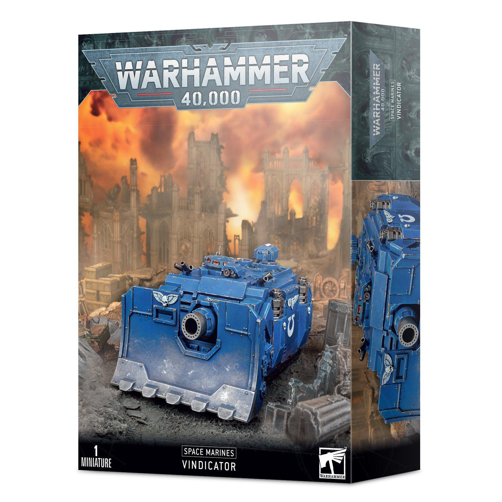 Box Packaging for Space marines vindicator