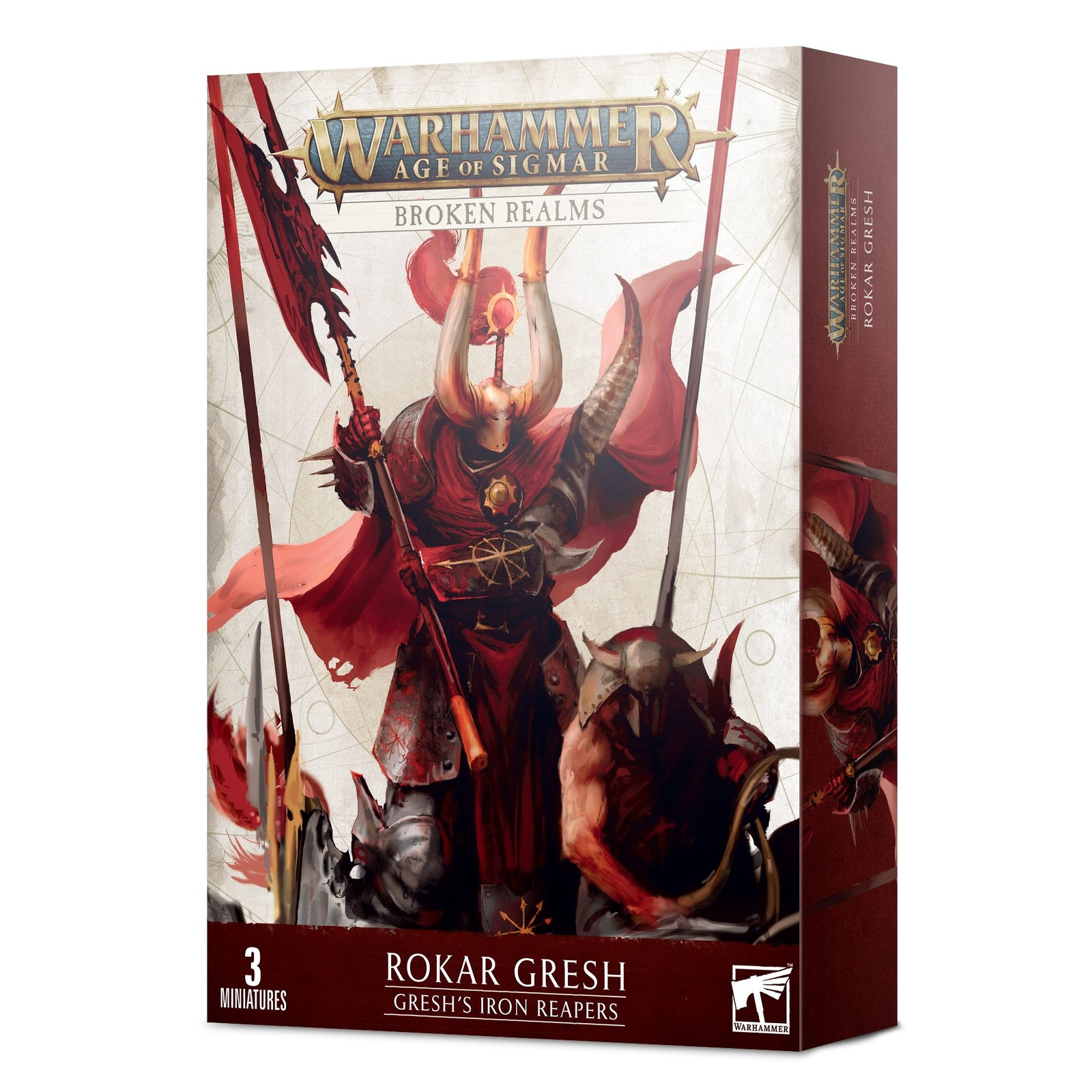Age of Sigmar: Broken Realms - Gresh's Iron Reapers