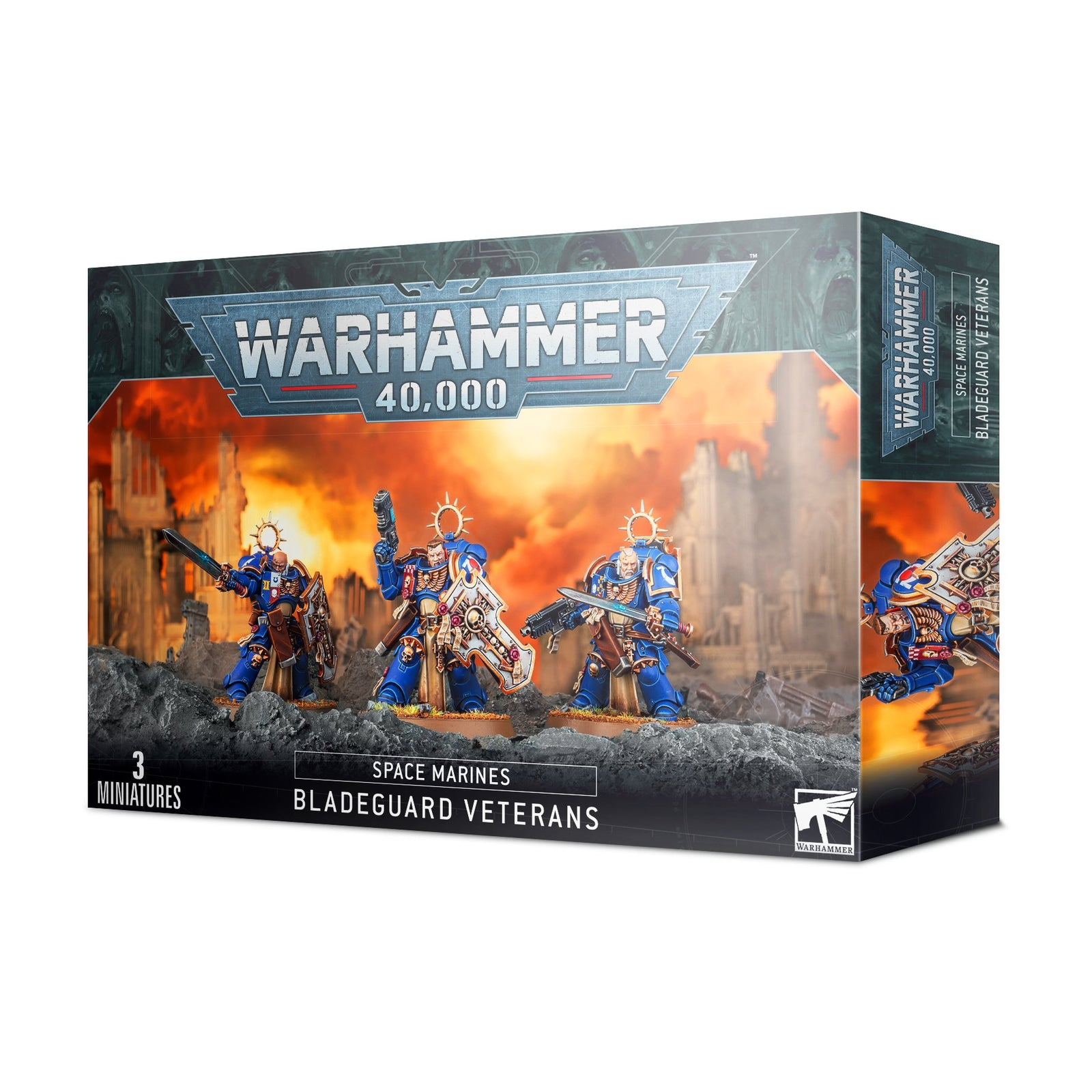 Box packaging for Bladeguard Veterans