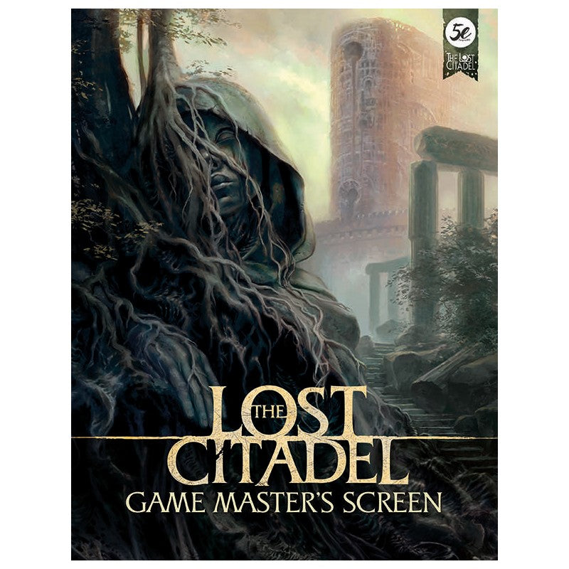 The Lost Citadel Game Master's screen