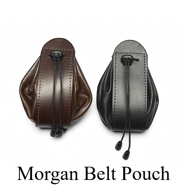 Leather Dice and Token Pouches