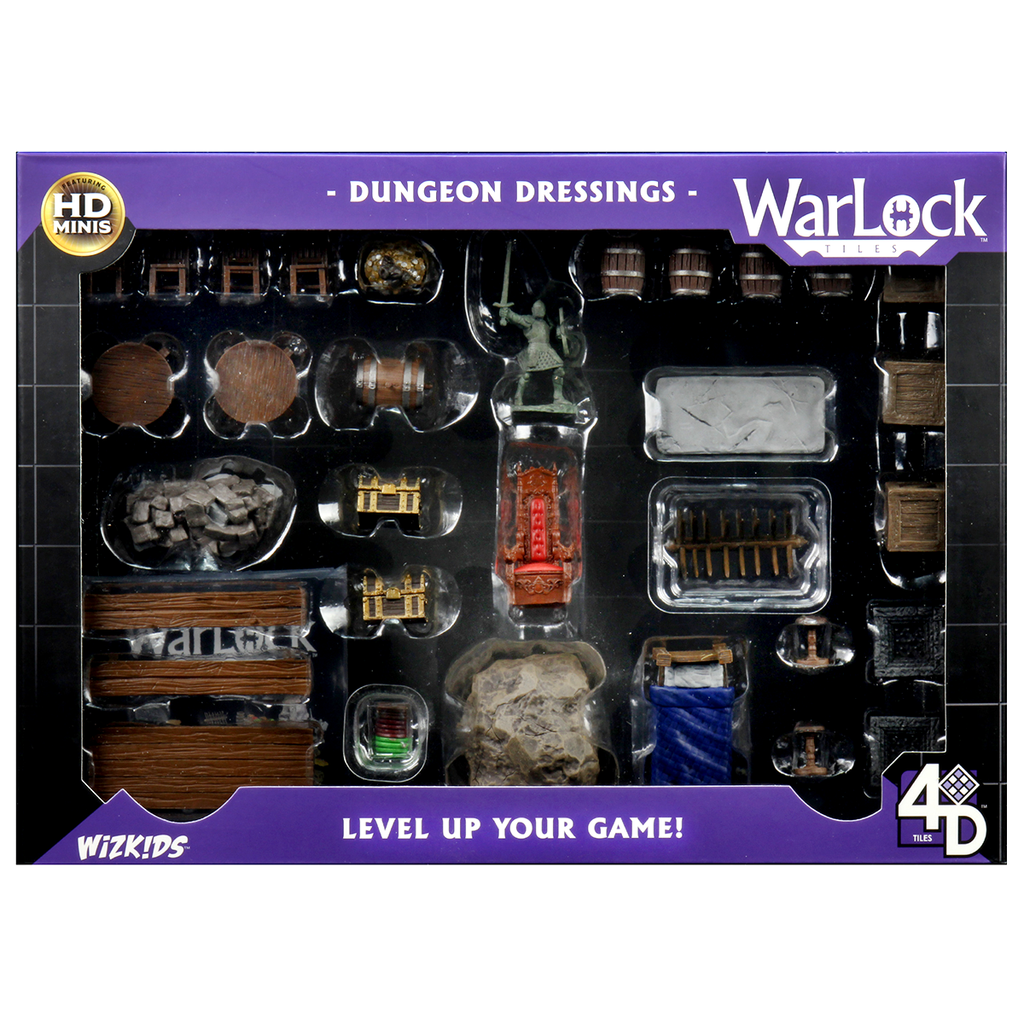 WarLock Tiles: Dungeon Dressings