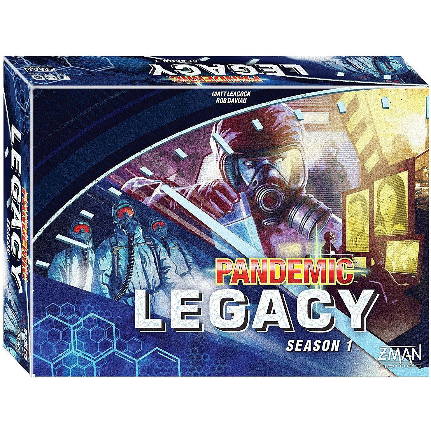 Pandemic Legacy (Blue Edition) S1