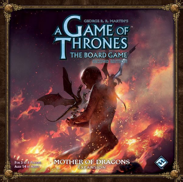 Cover art for A Game of Thrones The Board Game (second edition) Mother of Dragons Expansion