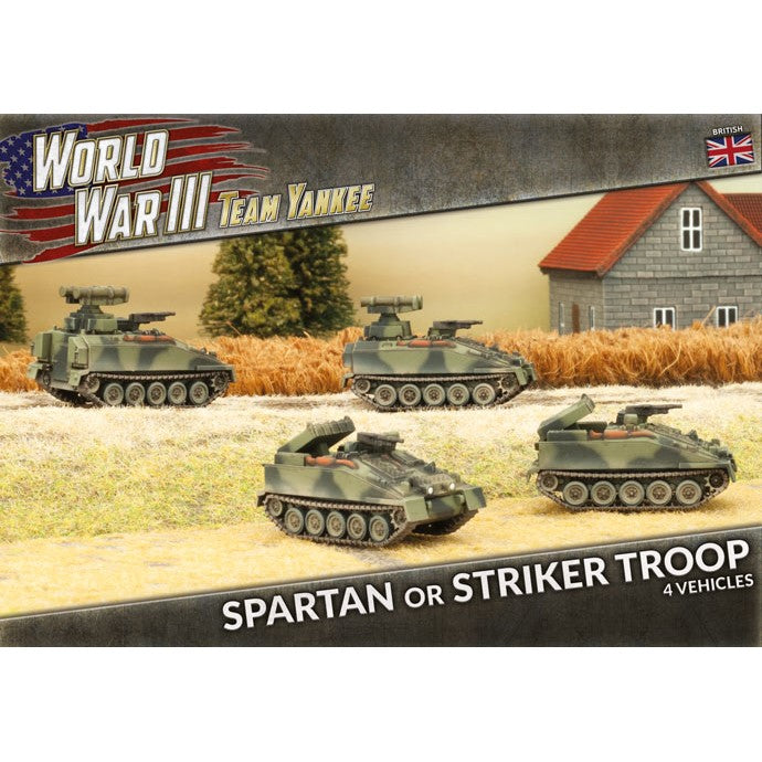 Spartan or Striker Troop - The Sword & Board