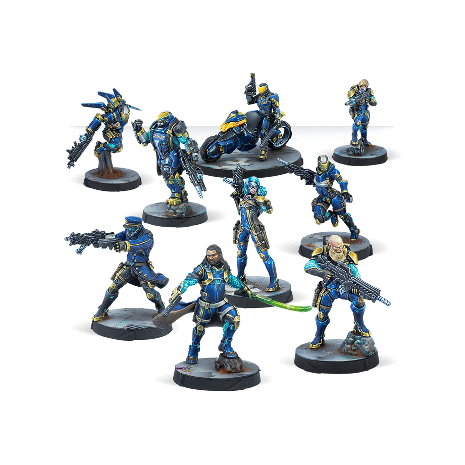 Miniatures Contained in Starmada Action Pack