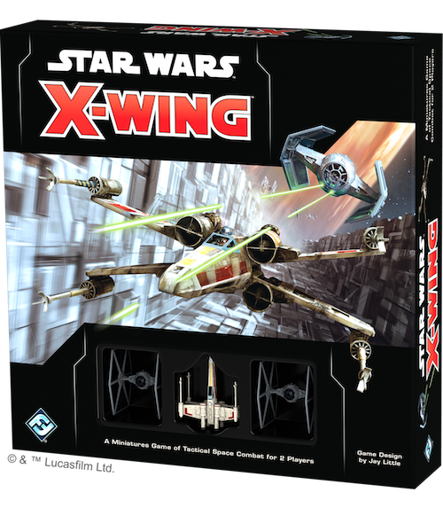 box packaging for X-Wing 2nd Ed.