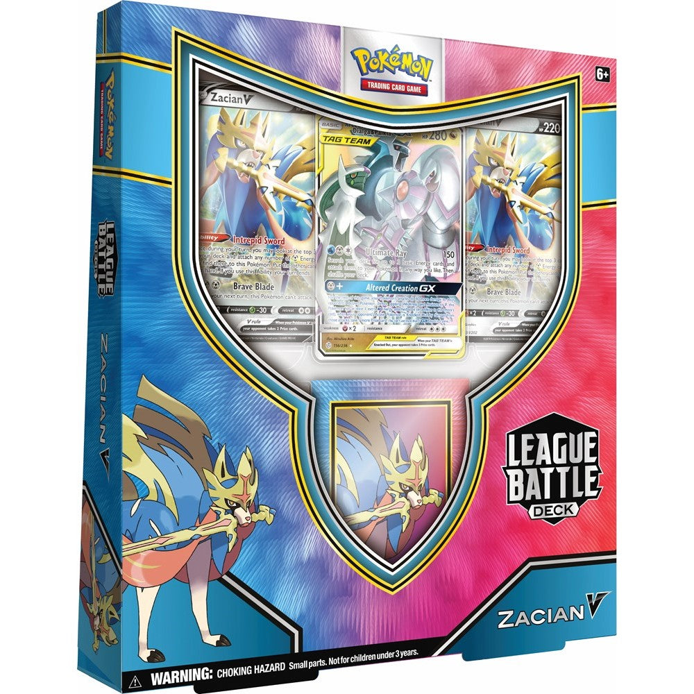 Pokemon Zacian League Battle Deck