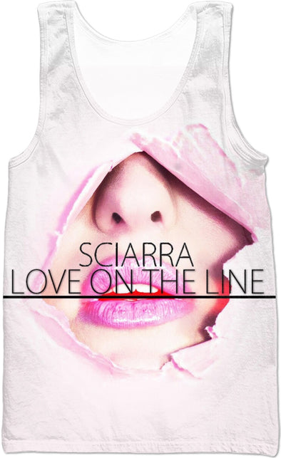 "Sciarra ""Love On The Line"" Tank Top"