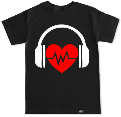 Men's Heartbeat DJ T-Shirt