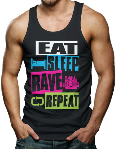 Men's Eat. Sleep. Rave. Repeat Shirt