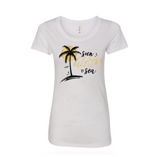 Sun GLAM & Sea T-Shirt - Women's (White)