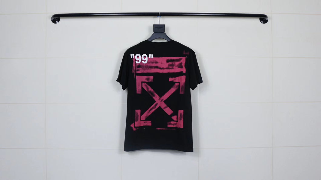OW back graffiti T-shirt