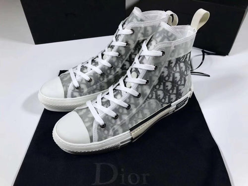 CD high-top sneakers