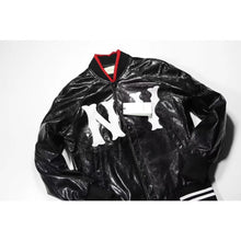 GUC x NY edition leather bomber