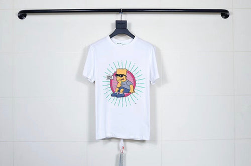 "OW x Simpson ""pink"" Tee"