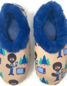 Bob Ross Slippers