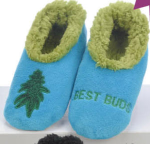Women's Best Buds Weed Slippers