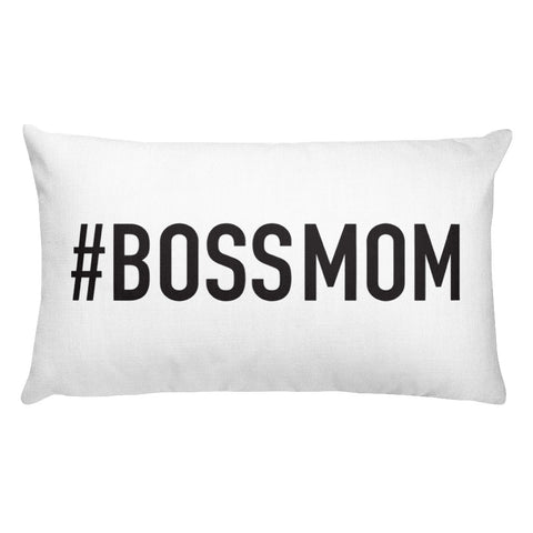 Boss Mom Pillow