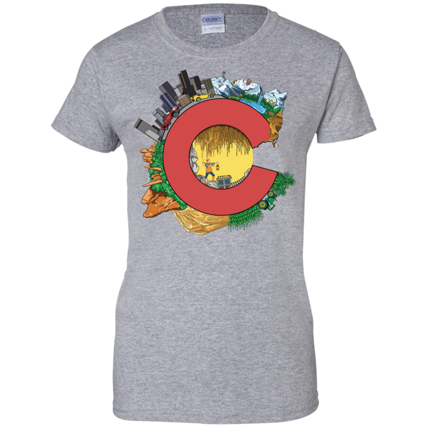 Lovely Colorado Ladies T-Shirt