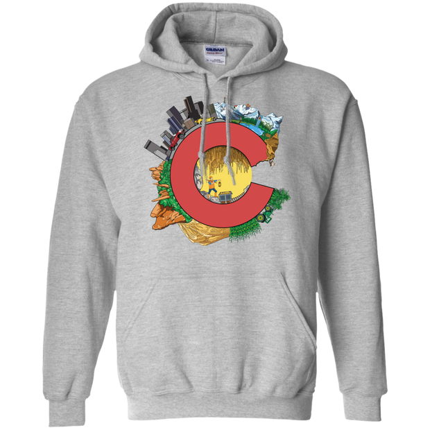 Lovely Colorado Pullover Hoodie 8 oz.