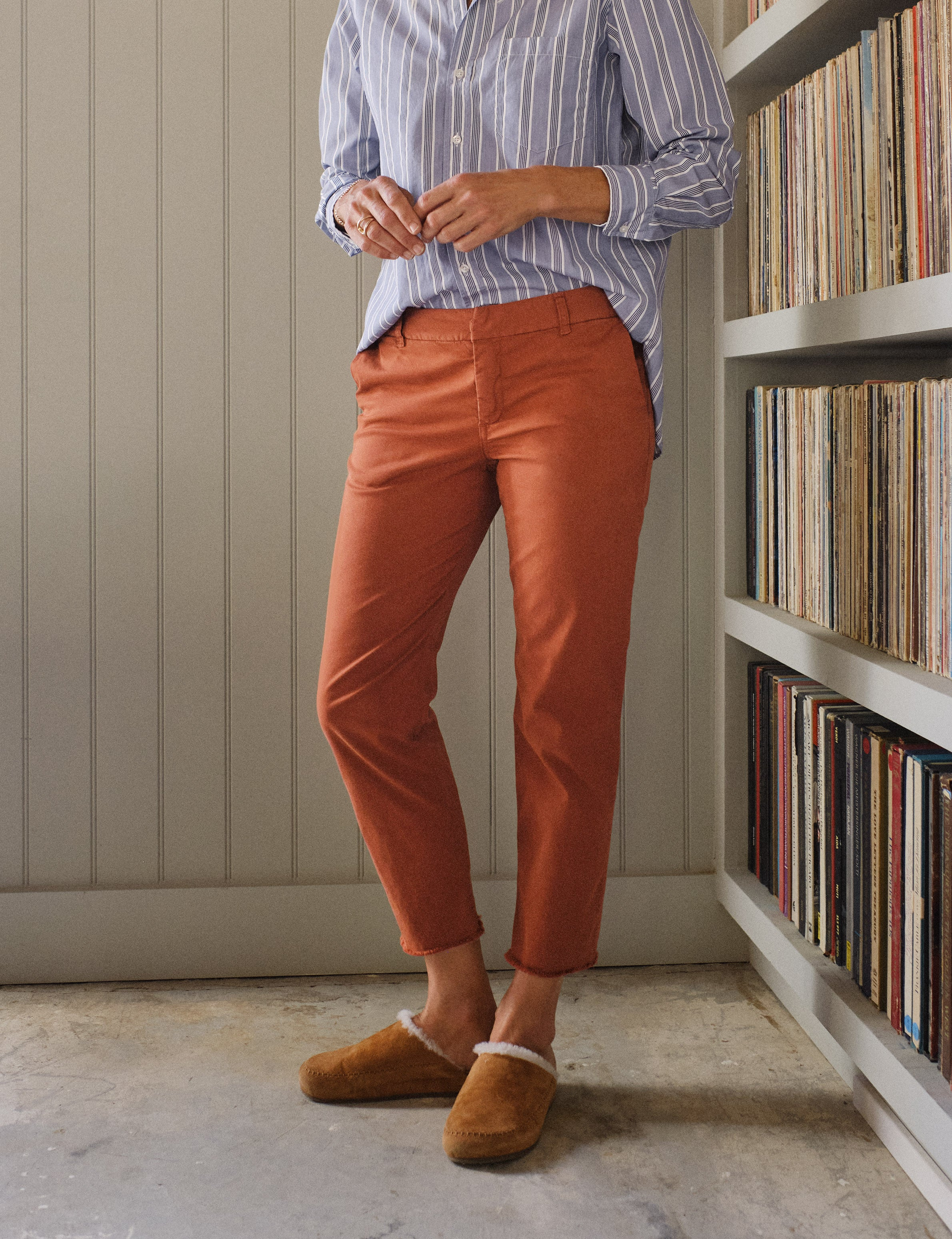 Image of WICKLOW Rust, Italian Chino