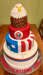 Eagle scout double layer cake